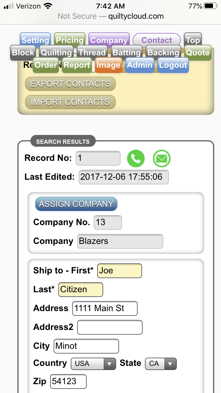 Import your Google contacts